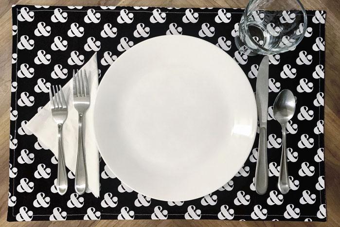 Large ceramic dinner plate